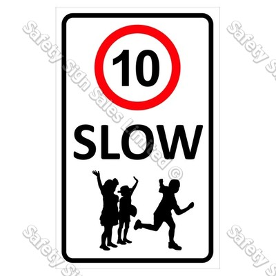"CYO|CS12 ""Slow"" 10km Sign"