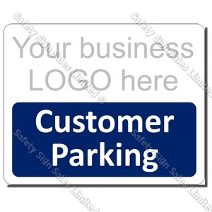 CYO|A53 - Custom Customer Parking Sign