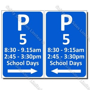CYO|PS55 – Parking 5 Sign