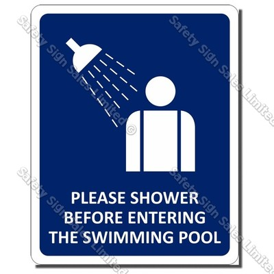 CYO|GA - Shower Sign