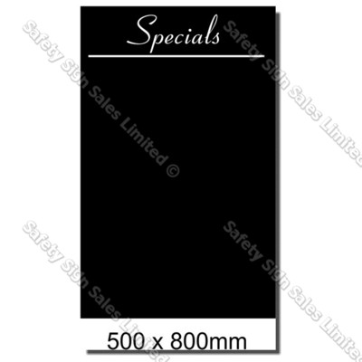 CYO|BB04 Blackboard Sign 500 x 800mm
