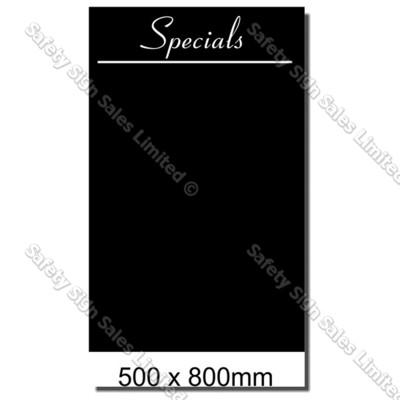 CYO BB04 Blackboard Sign 500 x 800mm