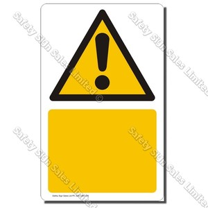 CYO|CG Custom Made Warning Symbol Sign