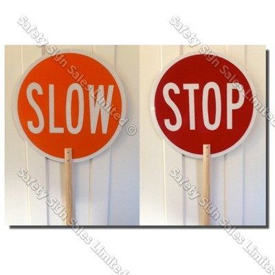 CYO|CS30 - Hand Held Lollipop Sign