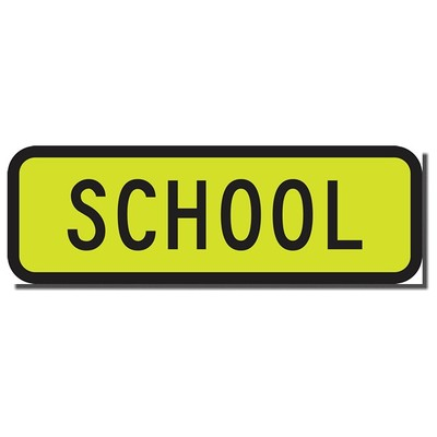CYO|CS31 - Magnetic School Bus Sign