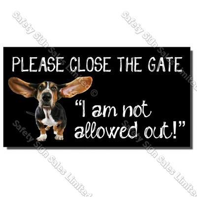 CYO|DS02 - Dog Gate Sign