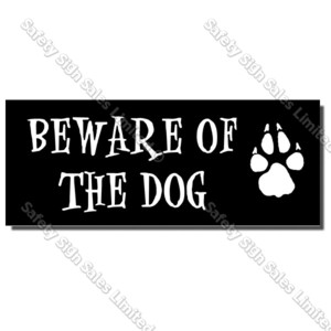 CYO|DS03 - Beware of Dog Sign