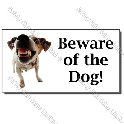 CYO|DS06 - Beware of the Dog Sign