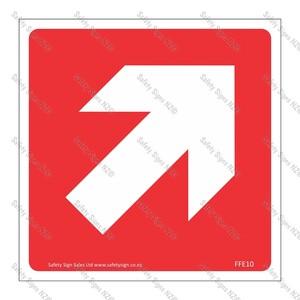 CYO|FFE10 - Directional Arrow RED