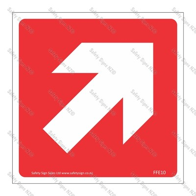 CYO|FFE10 - Directional Arrow RED