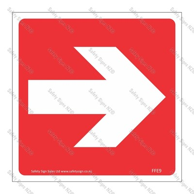 CYO|FFE9 - Directional Arrow RED