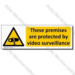 CYO|WA16 Video Surveillance Sign