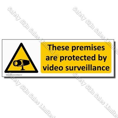 CYO|WA16 Video Surveillance Sign