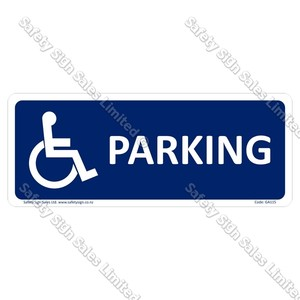GA115 - Disabled Parking Sign