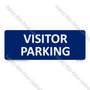 GA117 - Visitor Parking Sign