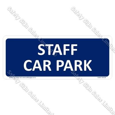 GA118 - Staff Car Park