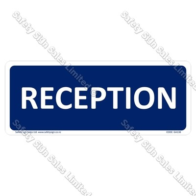 CYO|GA138 – Reception Sign