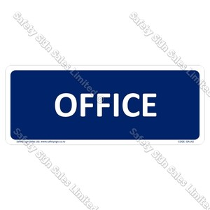 GA142 - Office Sign