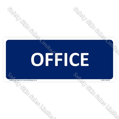 CYO|GA142 - Office Sign