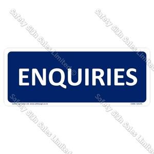 GA145 - Enquiries Sign