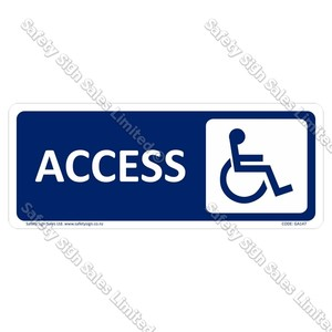 GA147 - Disability Access Toilet Sign