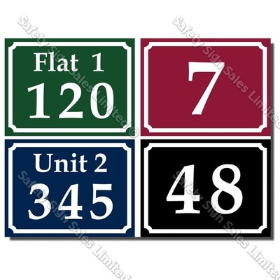 Code: CYO|LB10 - House Number Sign