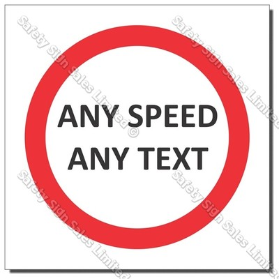 CYO|PX60 - Any Speed/Text Sign