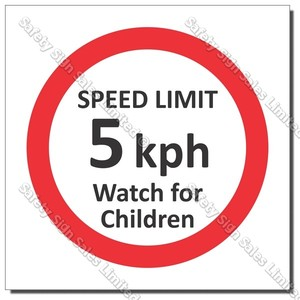 "CYO|PX60 - Speed Sign ""Watch for Children"""