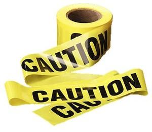 T02 - Caution Tape 75mm x 300m