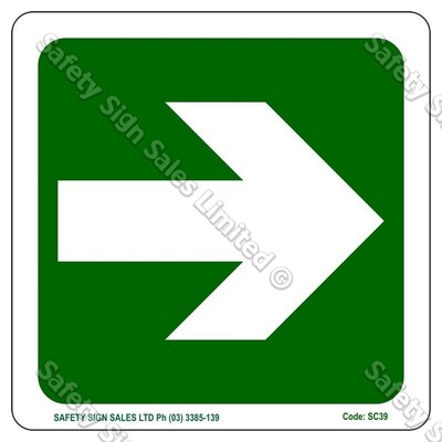 SC39 - Arrow Sign