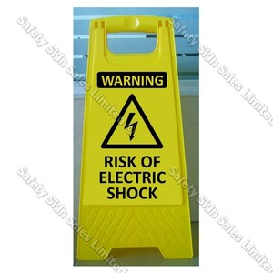 CYO|WG102 Risk of Electric Shock Sign