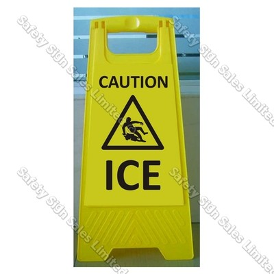 CYO|WG98 Caution. Ice Sign