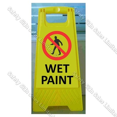 CYO|WG98F - Wet Paint Sign
