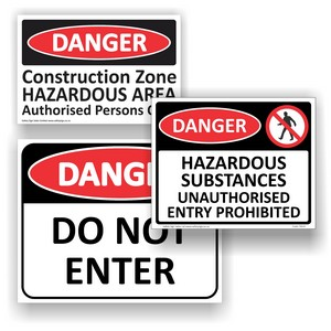 Danger Signs & Labels