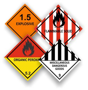 Dangerous Goods Signs & Labels