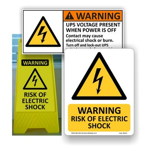 Electrical Safety Signs & Labels