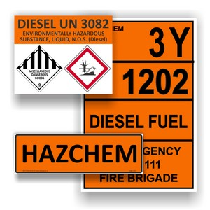 Hazchem Signs & Labels