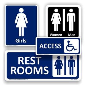 Restroom Signs & Labels