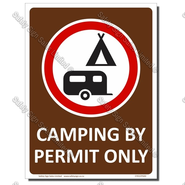 CYO|CPG02 CAMPING BY PERMIT ONLY