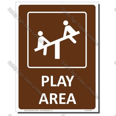CYO|CPG05 - Play Area Sign