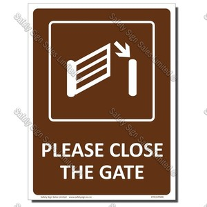 CYO|CPG06 - Please Close the Gate