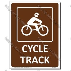 CYO|CPG07 - Cycle Track Sign
