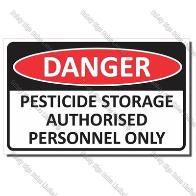 CYO|DA26 - Pesticide Danger Sign