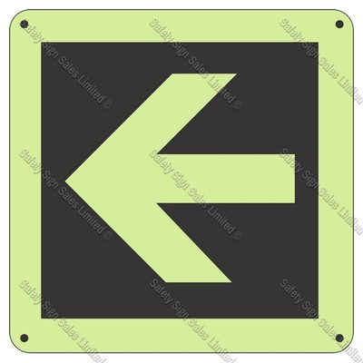 CYO|SCGID09 - Arrow Glow-In-The-Dark Sign