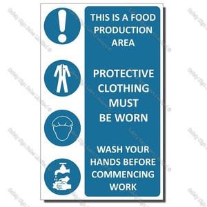 Food Safety Sign   CYO-H05