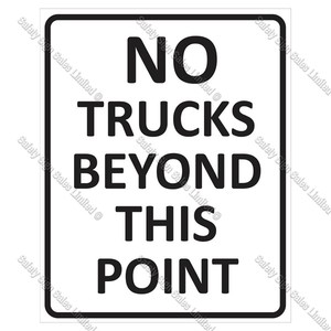 CYO|A62 - No Trucks Beyond This Point