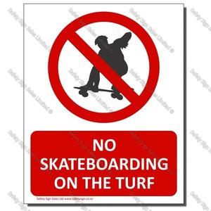 CYO-PA31 No Skateboarding on the Turf