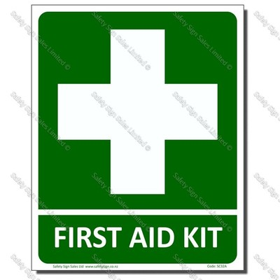 CYO-SC32B First Aid Kit Sign