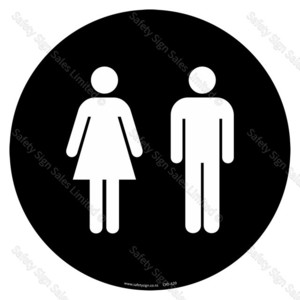 CYO|A20 - Restroom | Toilet Sign