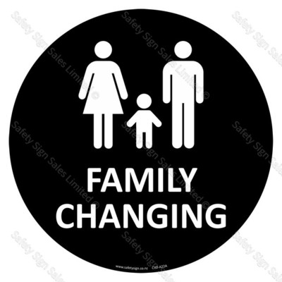 CYO-A22A Family Changing Sign